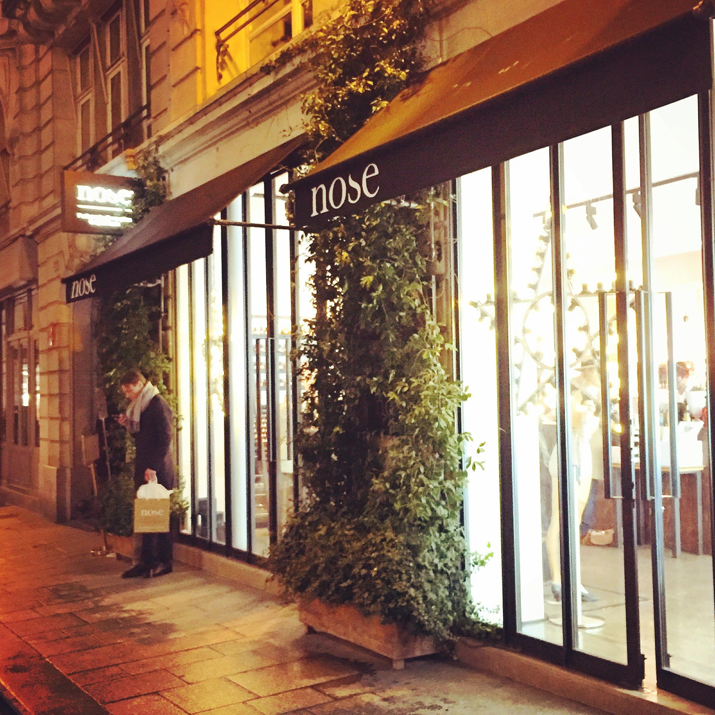 Concept store beauté Nose, à Paris