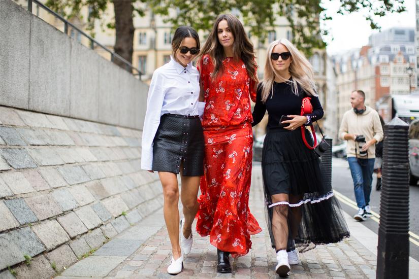 Street style Fashion Week de Londres printemps-été 2017