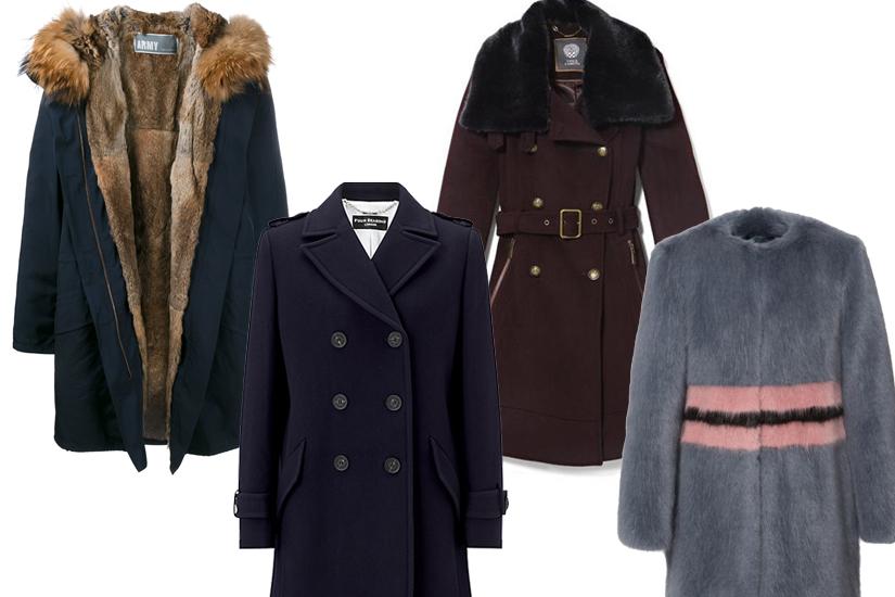 Shopping mode: 27 manteaux pour l'hiver