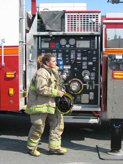 Profession pompière