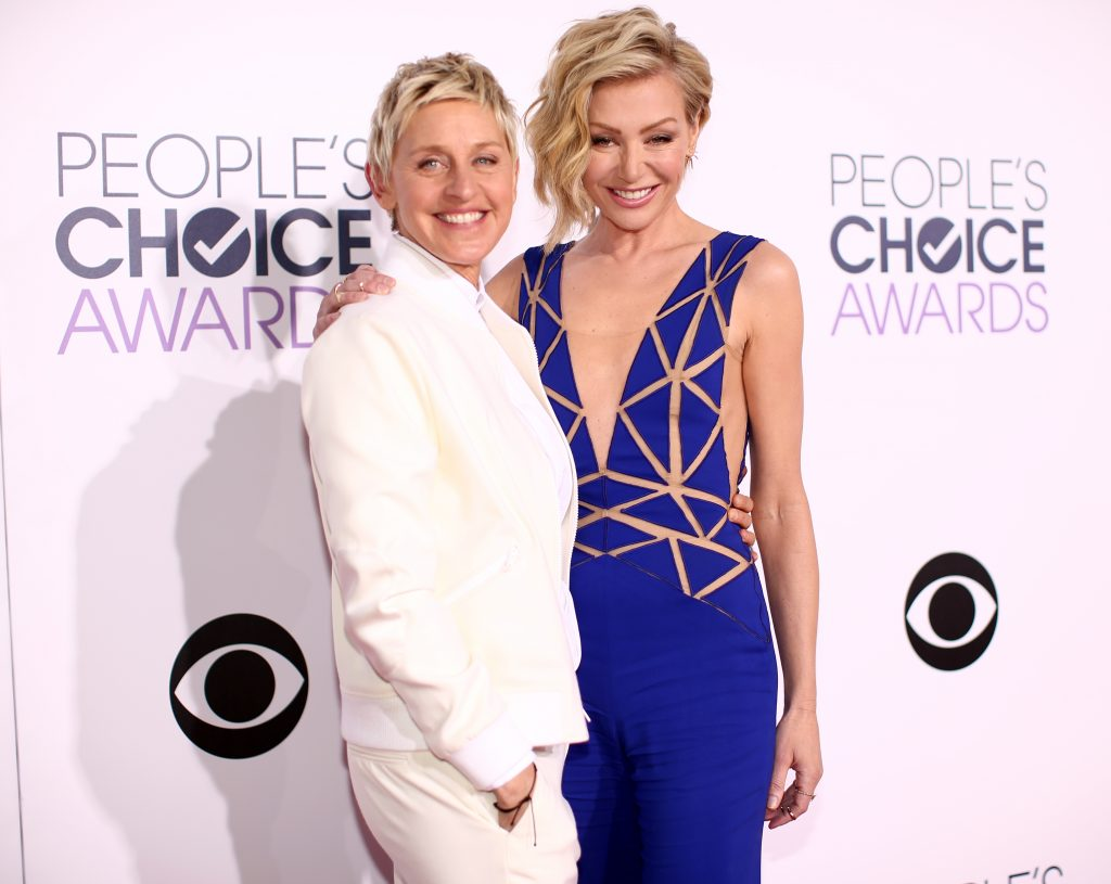 Les couples de célébrités qui nous font rêver: Ellen DeGeneres et Portia de Rossi