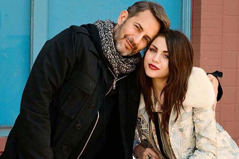 Marc Jacobs et Frances Bean Cobain