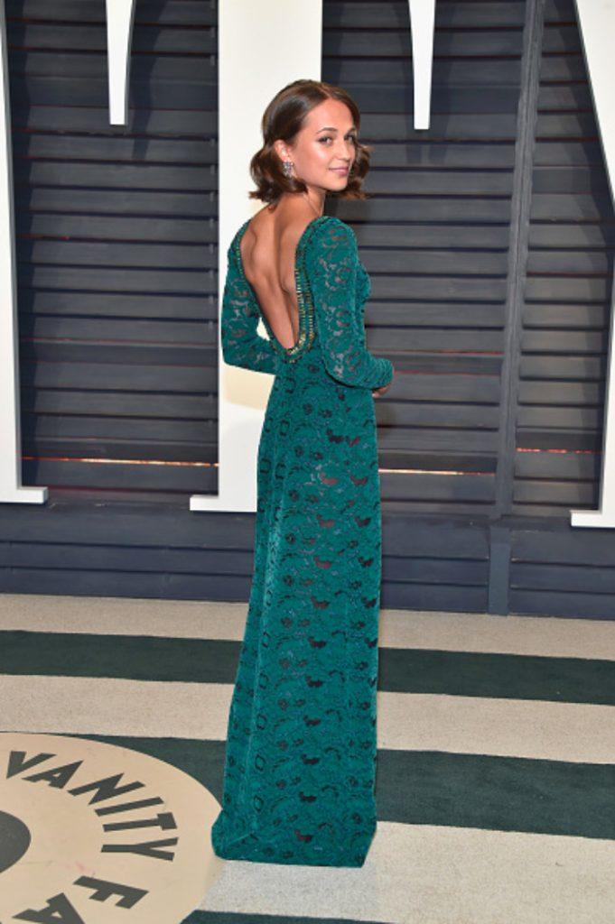 Soirée de clôture des Oscars 2017: Alicia Vikander
