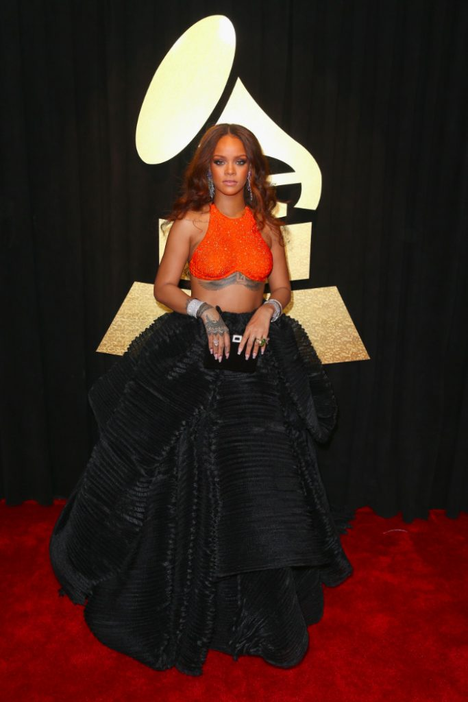 Au Grammy Awards en 2017