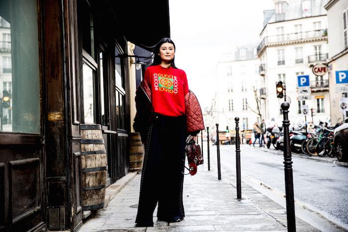 Street style: les looks vus à la Fashion Week de Paris automne-hiver 2017-2018