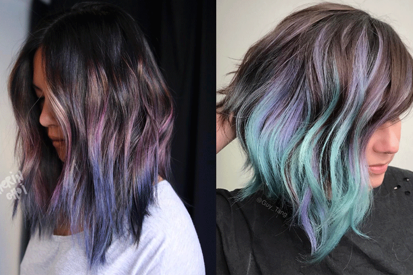 La coloration Geode Hair