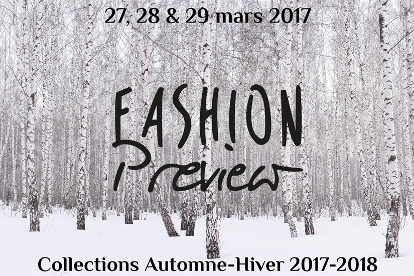 Fashion Preview: une 7ème édition placée sous le signe des tendances