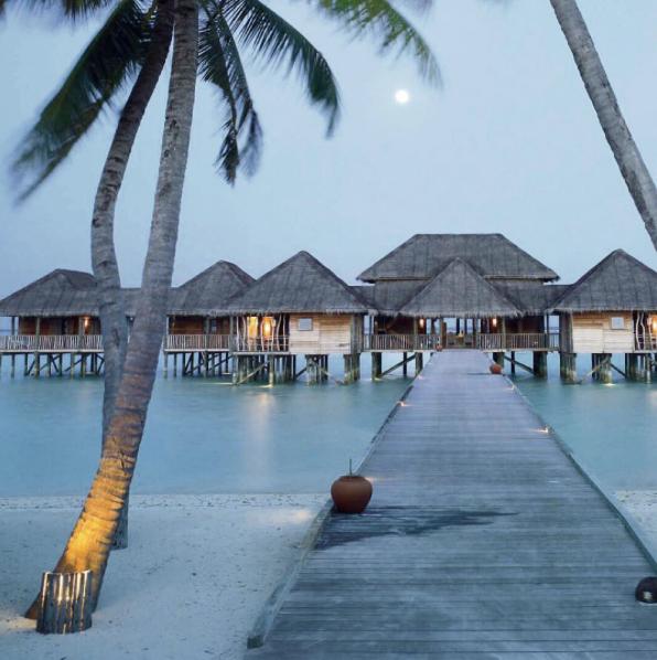 Lune de miel en Asie: Gili Lankanfushi, sur l'île Lankanfushi (Maldives)