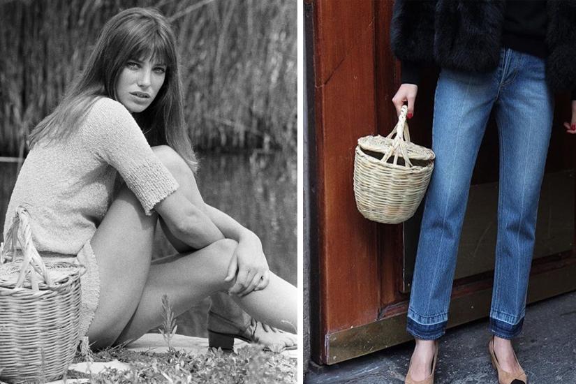Le panier en osier: l'accessoire cool à adopter ce printemps