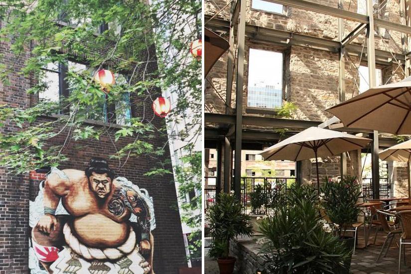 Les meilleures terrasses de Montréal pour manger et boire un verre