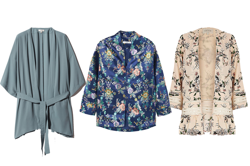Shopping mode: le kimono fait des vagues