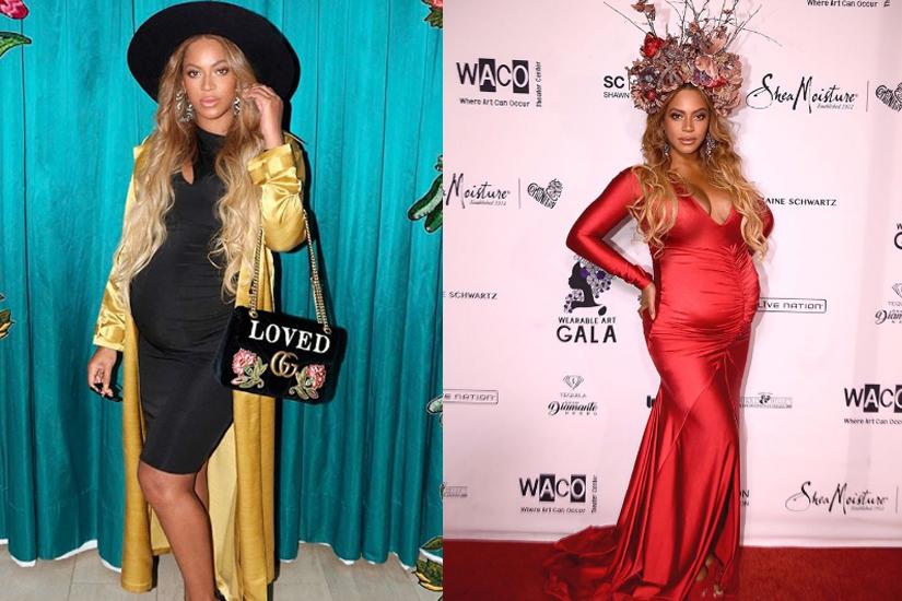 Les photos de Beyoncé enceinte sur Instagram