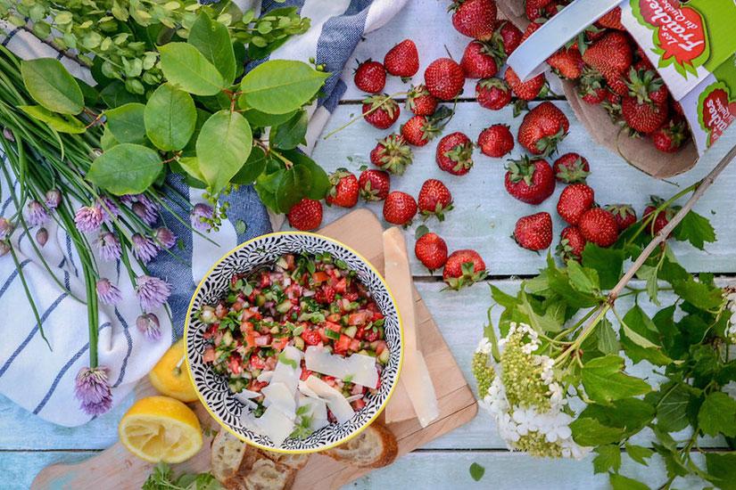 10 recettes pour profiter de la saison des fraises au Québec