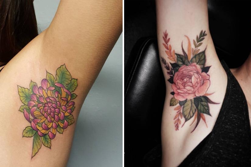 «Armpit tattoo»: la nouvelle tendance tatouage