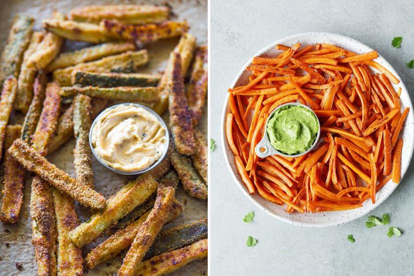 10 recettes de frites aux légumes