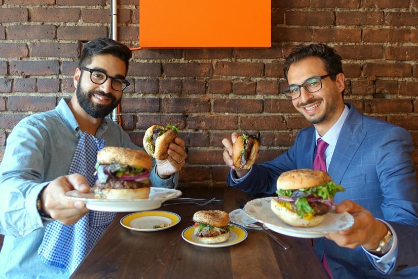 Le Burger Week: rencontre avec les cofondateurs Na'eem Adam et Thierry Rassam