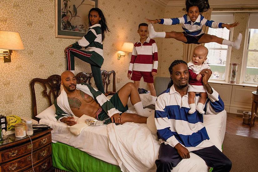 Une famille homoparentale égérie de la campagne d'Acne Studios