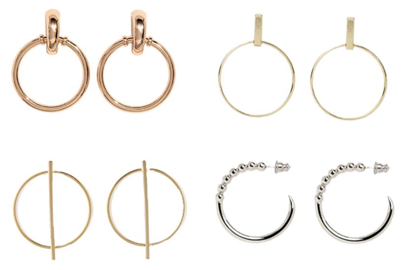 Shopping: 20 anneaux d'oreilles ultratendance