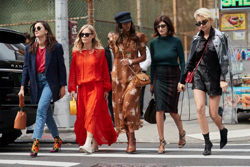 Street style: zoom sur la Fashion Week de New York printemps-été 2018
