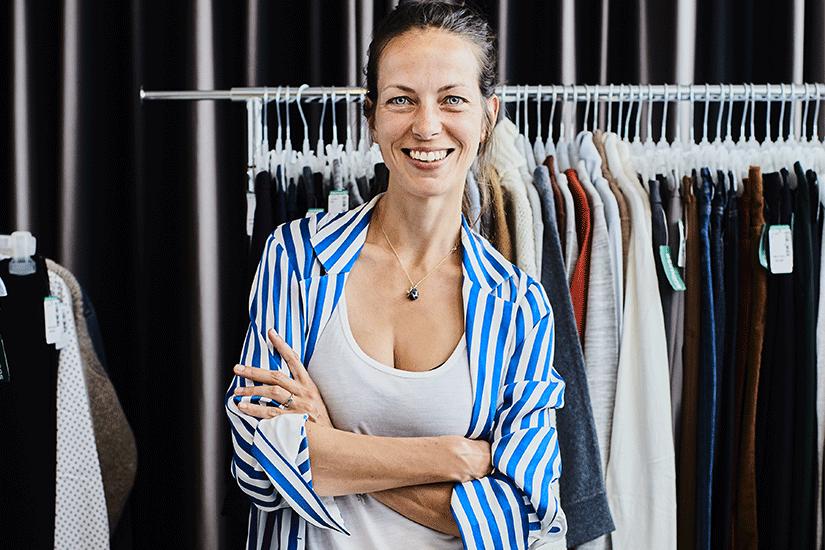 Sara Bruneau styliste de mode