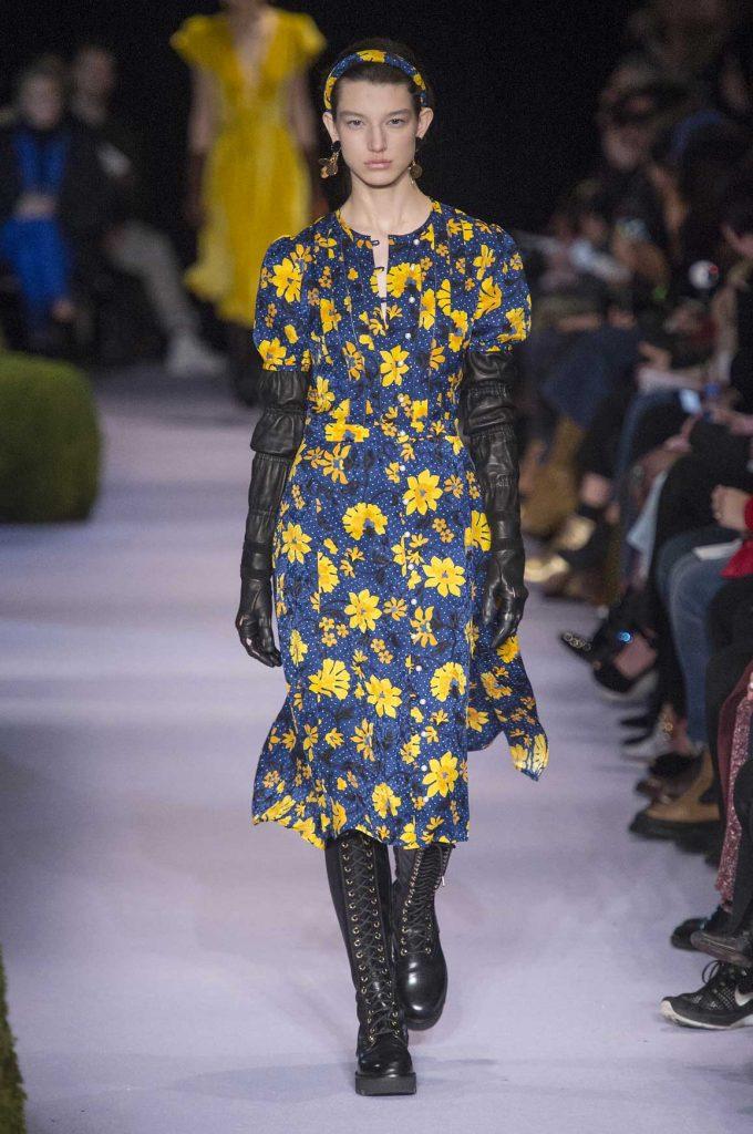 Tendance mode automne-hiver 2017-2018: l'imprimé floral