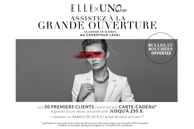 UNOde50 Carrefour Laval