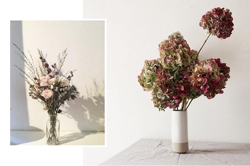 #Inspiration: les fleurs séchées s'invitent dans notre déco