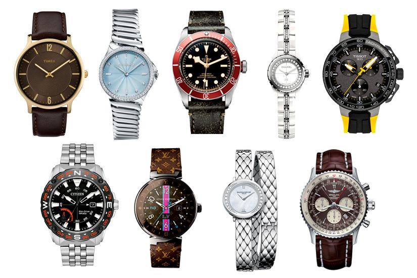 Les montres de la saison