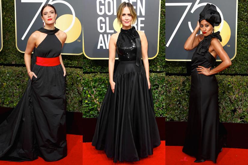 Robes Golden Globes 2018