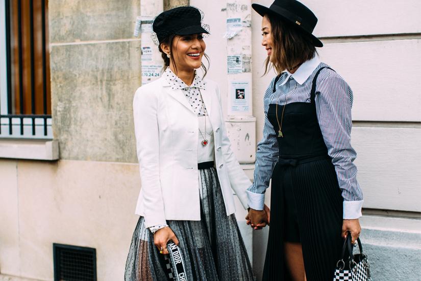Street style: zoom sur la Fashion Week de Paris automne-hiver 2018-2019