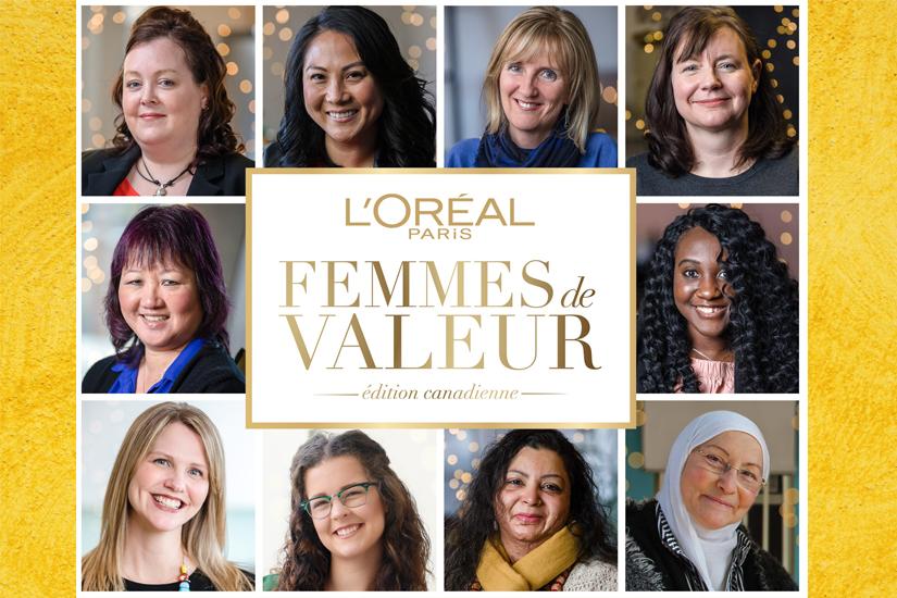 Femmes de valeur L'Oréal Paris Canada