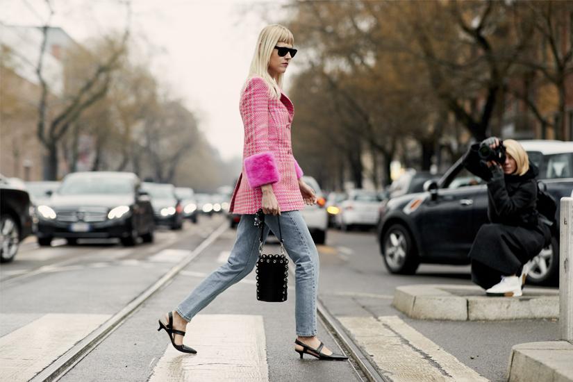Street style: zoom sur la Fashion Week de Milan automne-hiver 2018-2019