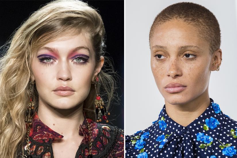 Zoom sur les maquillages aperçus à la Fashion Week automne-hiver 2018-2019