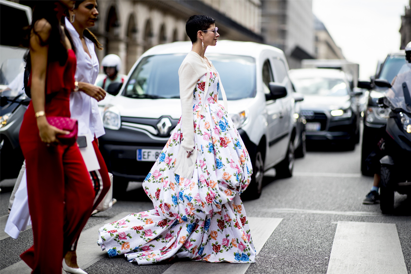 Street style: zoom sur la Fashion Week haute couture automne-hiver 2018-2019