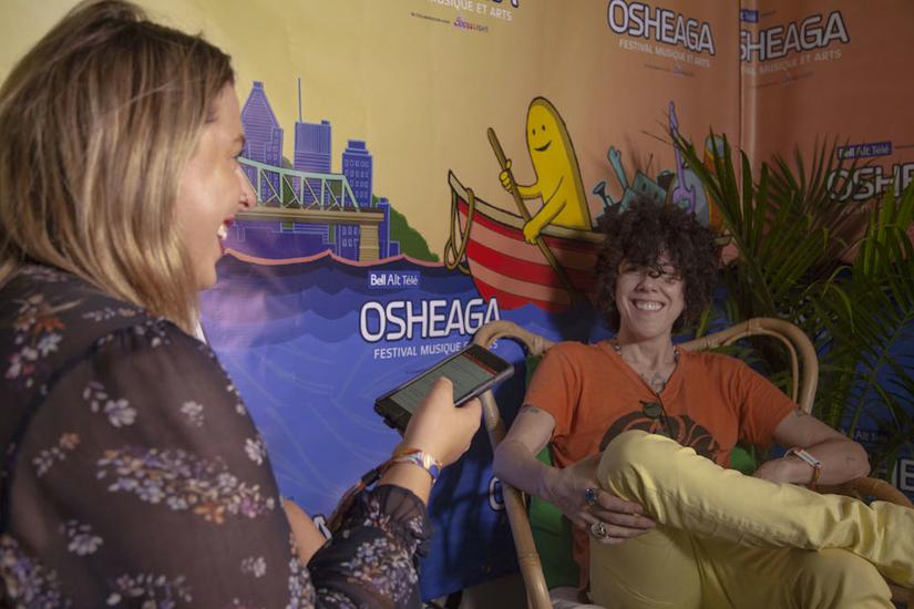 Osheaga: entrevue avec LP