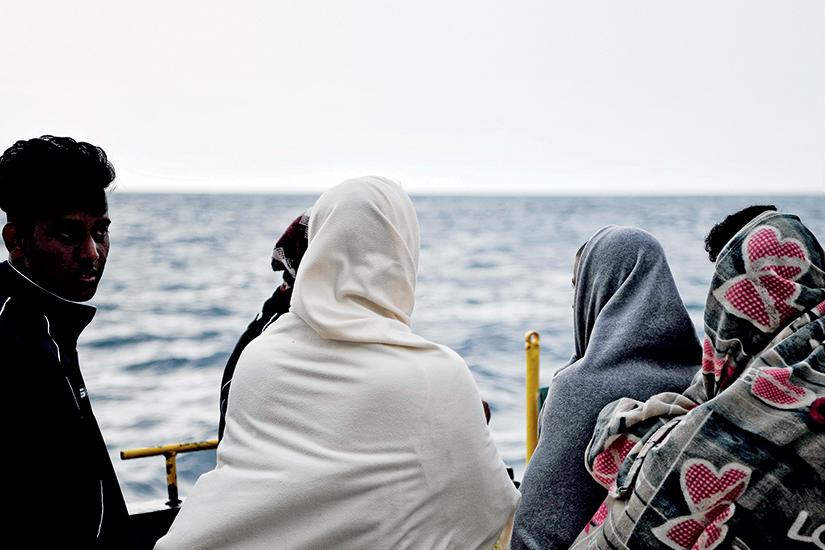 Parcours de réfugiées: fuir et guérir pour recommencer à vivre