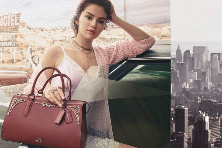 Coach x Selena Gomez: après les sacs, le prêt-à-porter!   Elle Québec