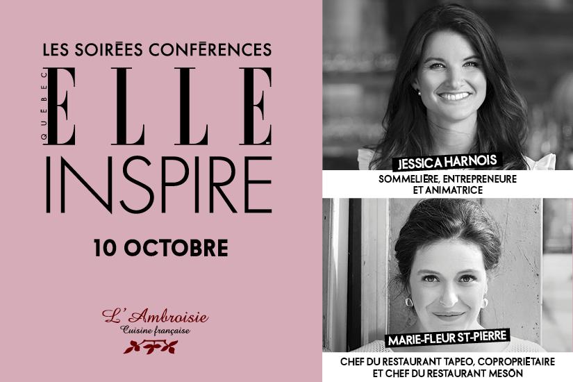ELLE Québec vous invite à sa 12e soirée-conférence ELLE Inspire