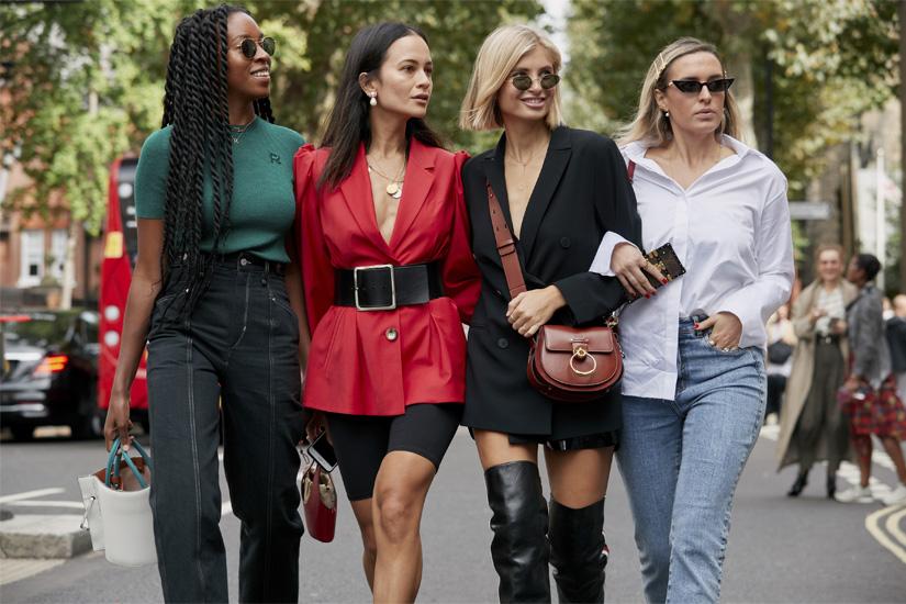 Street style: zoom sur la Fashion Week de Londres printemps-été 2019