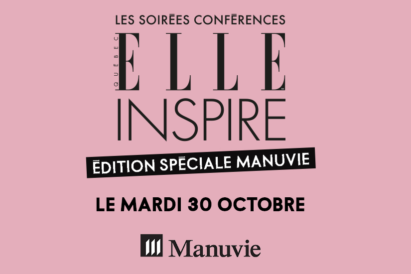 Concours ELLE Inspire x Manuvie