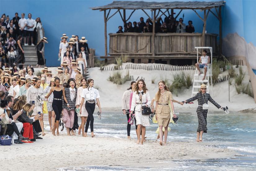 Défilé Chanel printemps-été 2019