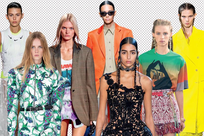 Les tendances mode printemps-été 2019