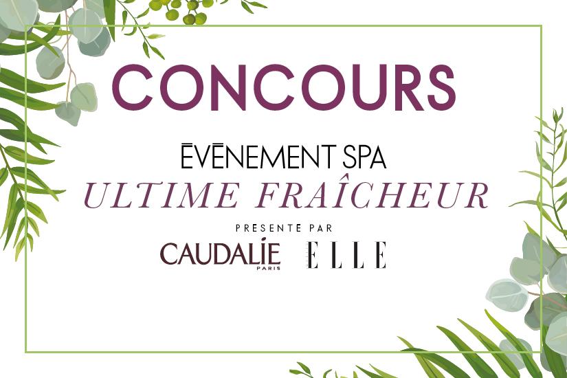Concours Caudalie x ELLE Québec