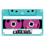 T-shirt Cassette-Mix-Tape