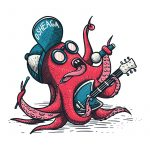 T-shirt Octopuss-Rocker