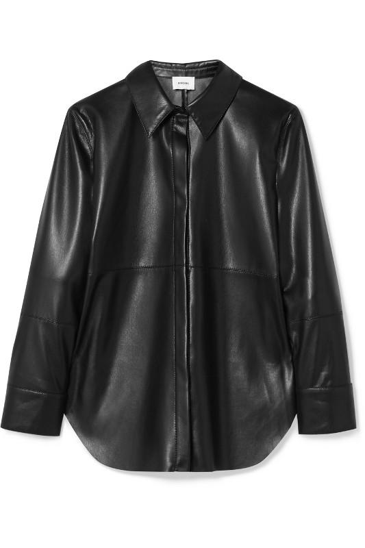 Manteau de cuir essentiels de l'automne