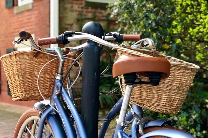 Se promener à vélo