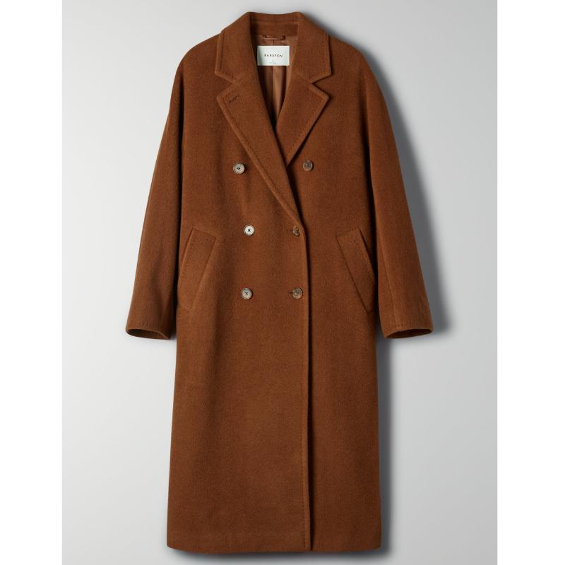 Manteau en laine de chameau, laine et nylon, Babaton à Aritzia