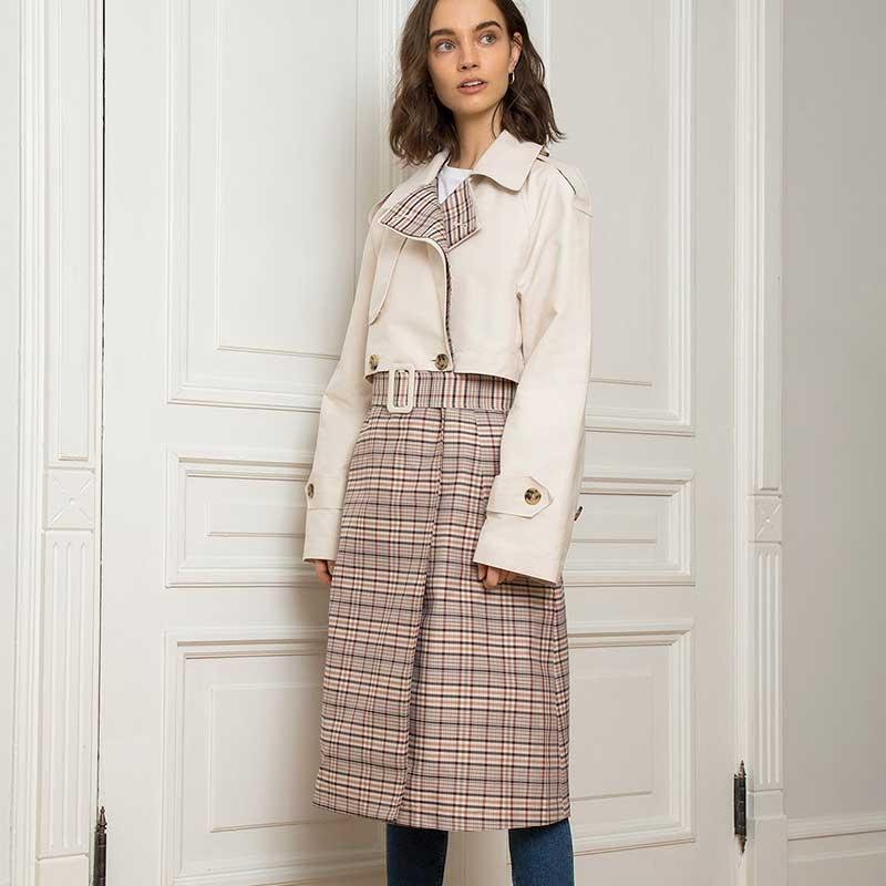 Manteau-en-polyester-et-toile-de-coton,-Union-Tint-à-Pixie-Market