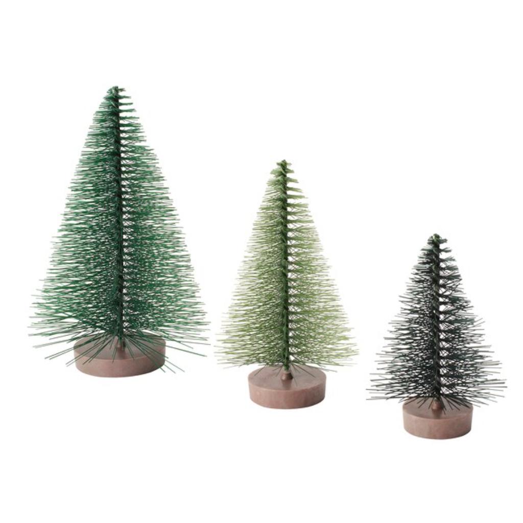 10-Sapins de noël décoratifs en acier et plastique, Ikea